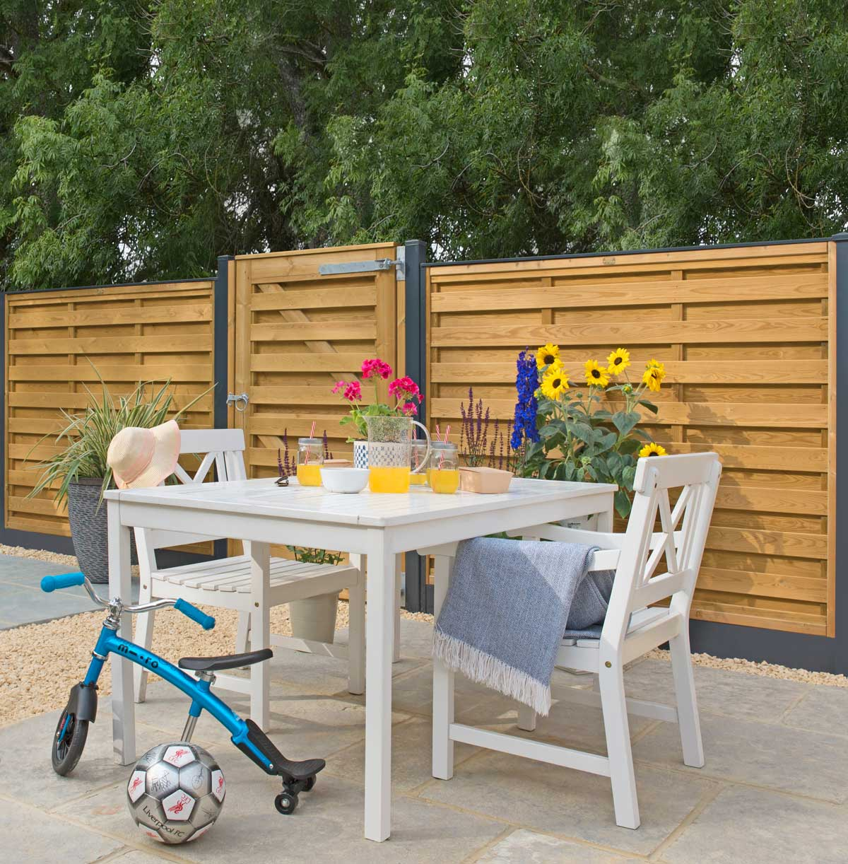 DuraPost galvanised steel fencing post system