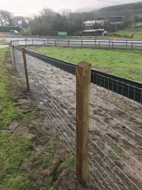Roadway Boundary Fencing - FRS Fencing